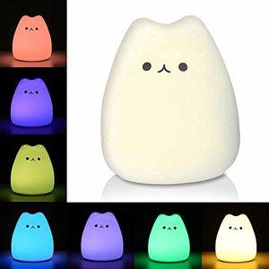 Litake LED Night Light, Mini Celebrity Cat