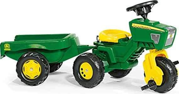 Rolly John Deere Trac with Trailer