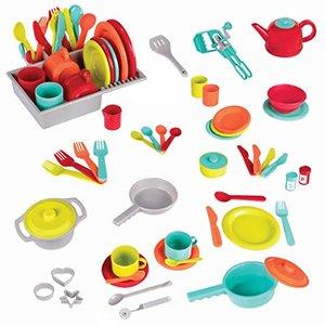 Battat Deluxe Kitchen 71 Pieces Toy Set