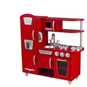 KidKraft Vintage Play Kitchen, Red