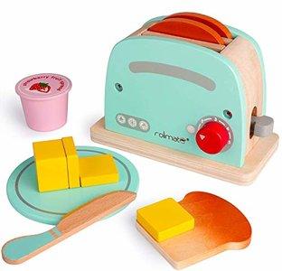 rolimate Wooden Toaster Kitchen Set