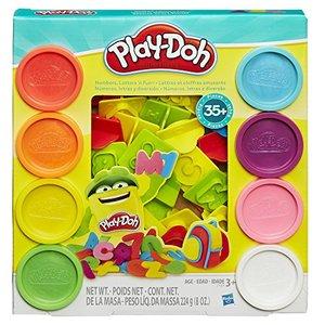 Play Doh Numbers, Letters, N Fun